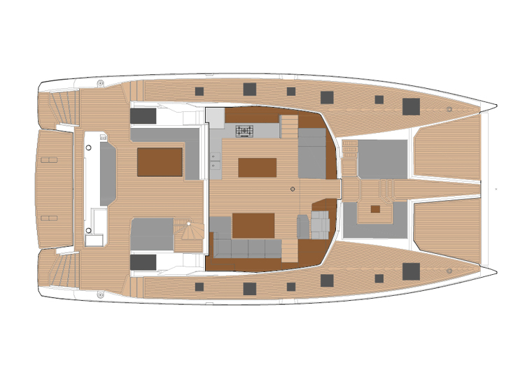 Fountaine Pajot Power 67 - power-67-layouts3.jpg